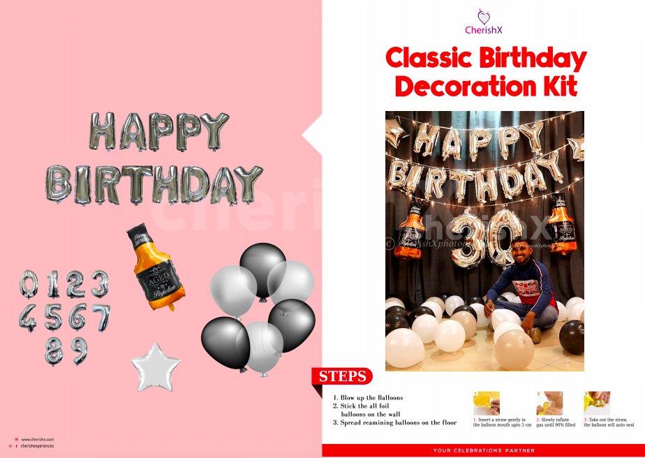 DIY Classic Birthday Kit