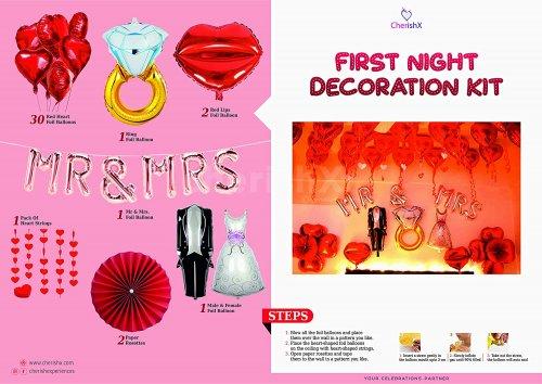 DIY Romantic First Night Decoration Kit