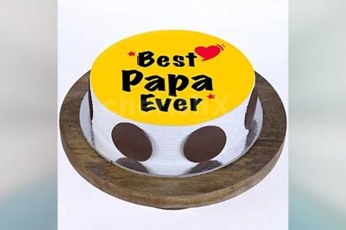 'Best Papa Ever' Designer Cake