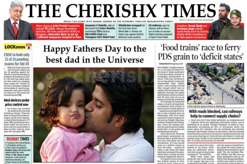Fathers Day E-News Paper Surprise