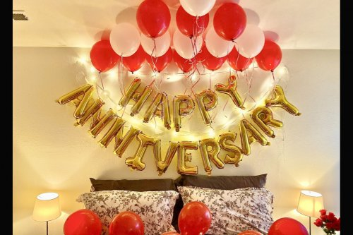 Anniversary Special Balloon Decoration