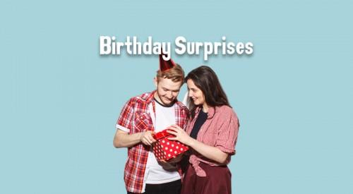 Birthday Surprises