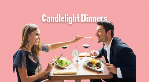 Candlelight Dinners Available Now