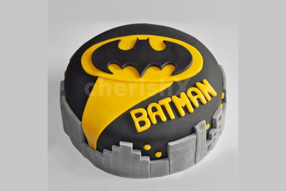 Batman theme designer cake delivery at home