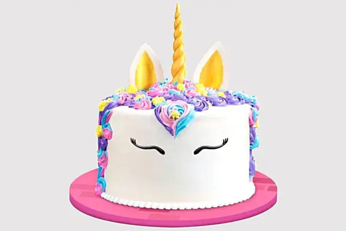 Unicorn theme cake delivery at home