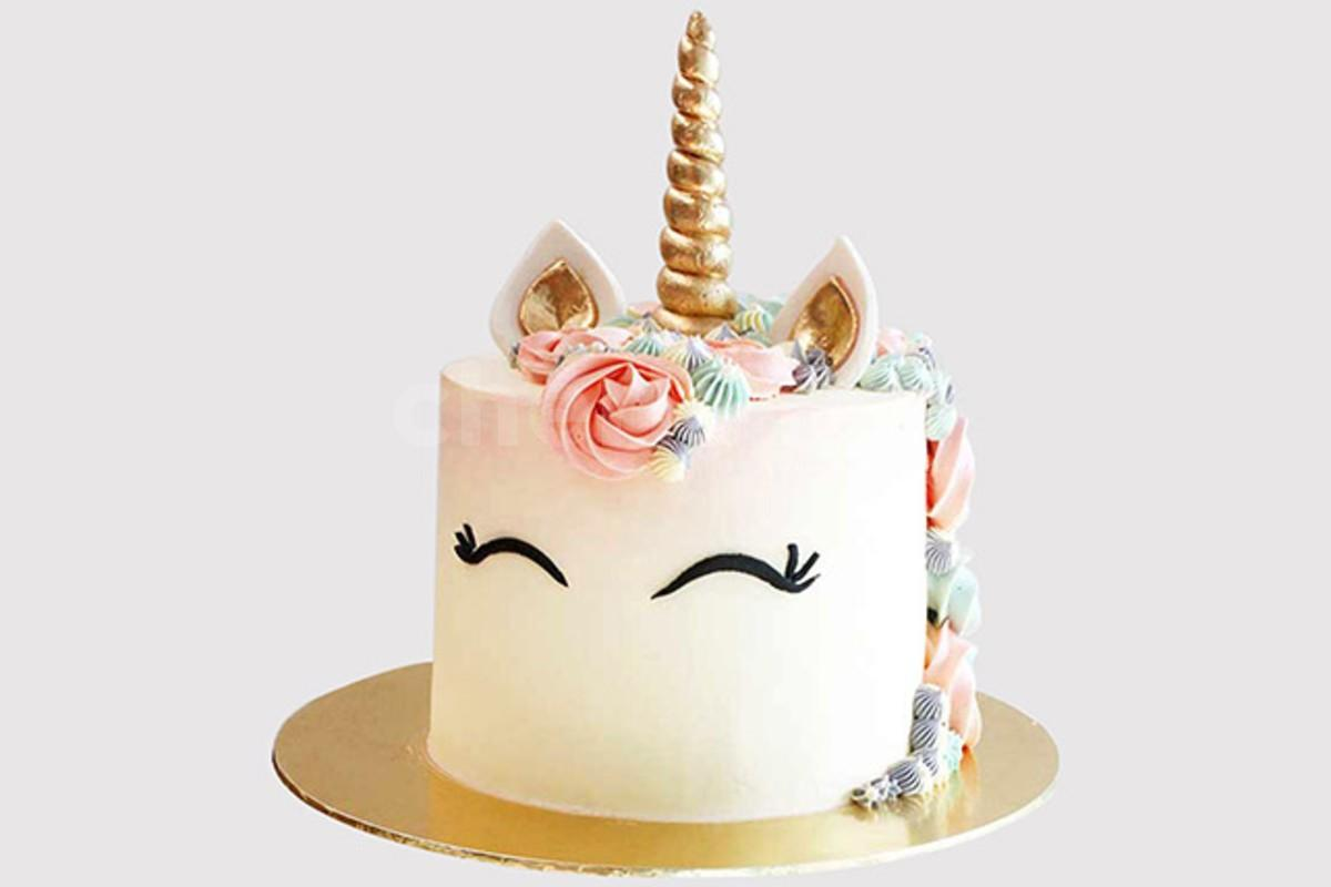 Unicorn theme cake delivery at home by cherishx