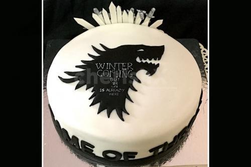 Game of thrones designer cake online delivery