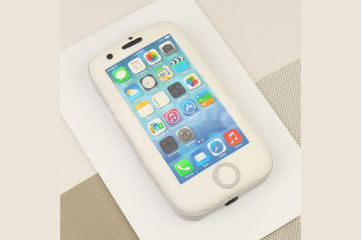 i Phone shape designer cake