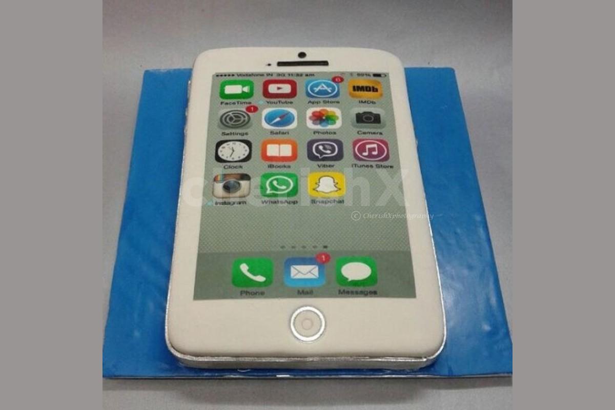 i Phone shape designer cake home delivery