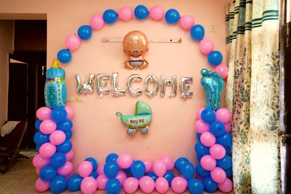 Book online Welcome new born baby decoration at home by cherishx