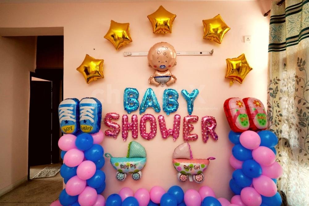 Baby shower elegant decoration by cherishx at your home