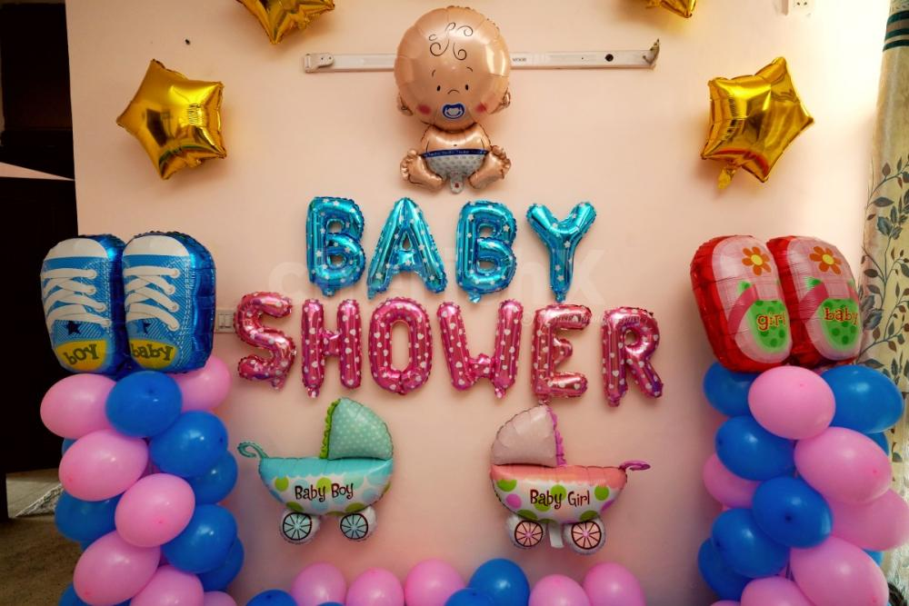 Book this Baby shower elegant decoration by cherishx online and get delivered at home