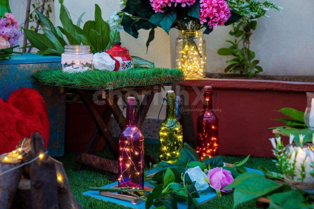 Romantic cabana dinner by cherishx in Jaipur