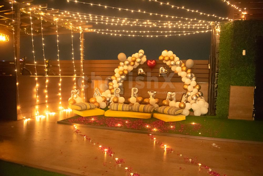 Book this sparkling decor with cherishx