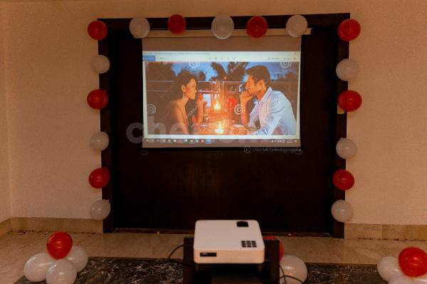 Romantic Movie and Dinner for celebrations for your loved one exclusively with cherishx