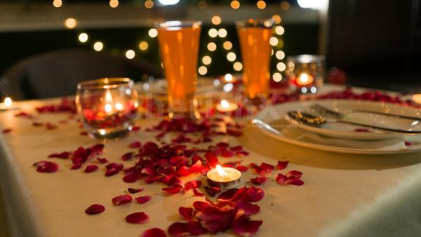 Book your very own Private Rooftop Candlelight Dinner with cherishx