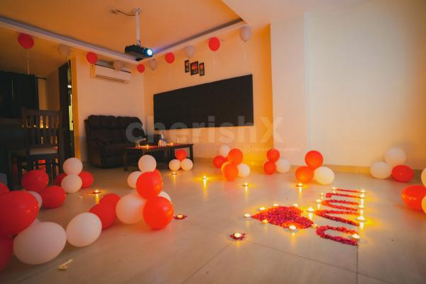 Anniversary Special Private Dinner & Movie Experience in Gurgaon