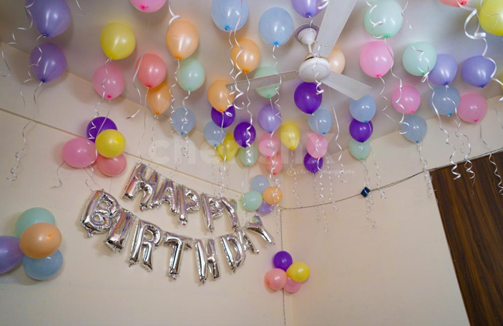 Pastel Balloon Surprise