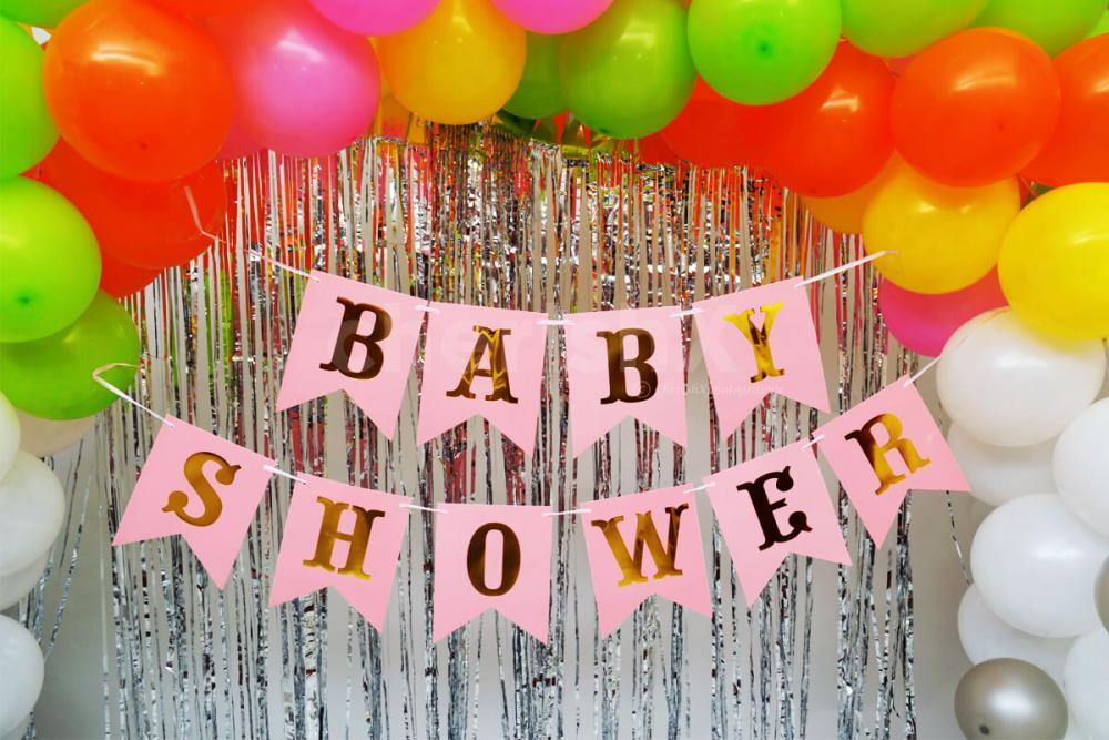 Budget friendly baby shower decoration