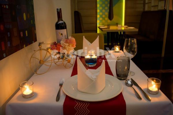 Romantic dinner at Radisson udyog vihar