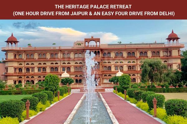 Umaid Lake Palace Staycation near Jaipur, Delhi