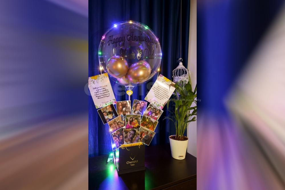 Love Bubble and Pictures Bucket for your loved ones.