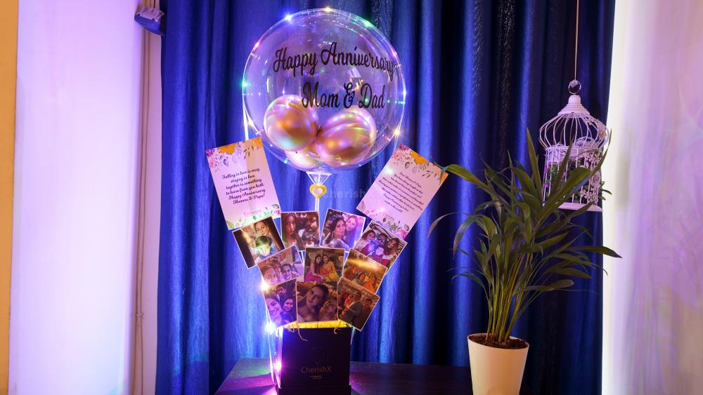 Gift this Awesome love bubble and pictures bucket to your loved ones