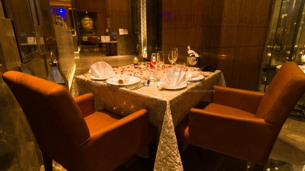 Candlelight dining at Taj city centre curated by cherishx