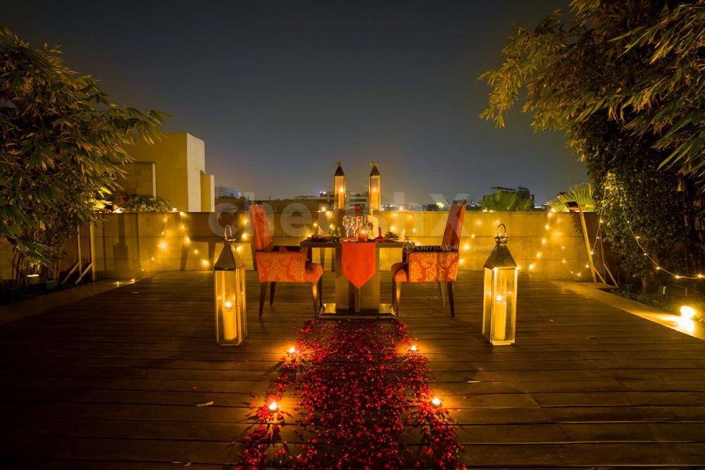 Stardeck dinner by Taj