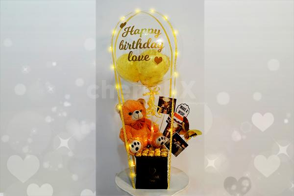 Surprise your close ones on their birthdays or anniversaries with this adorable gift.