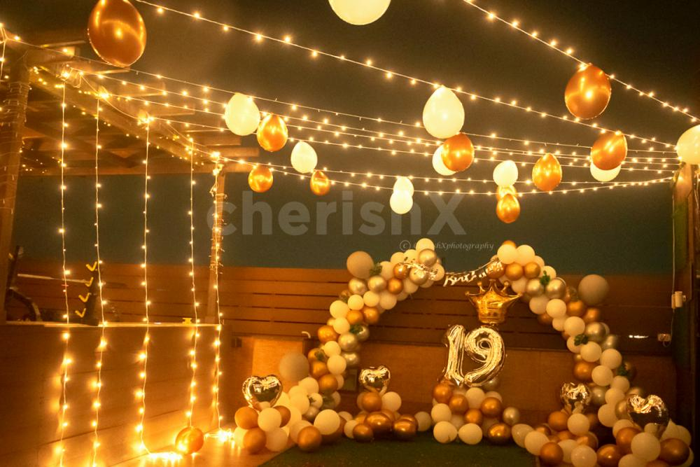 Terrace Decorations for Birthday