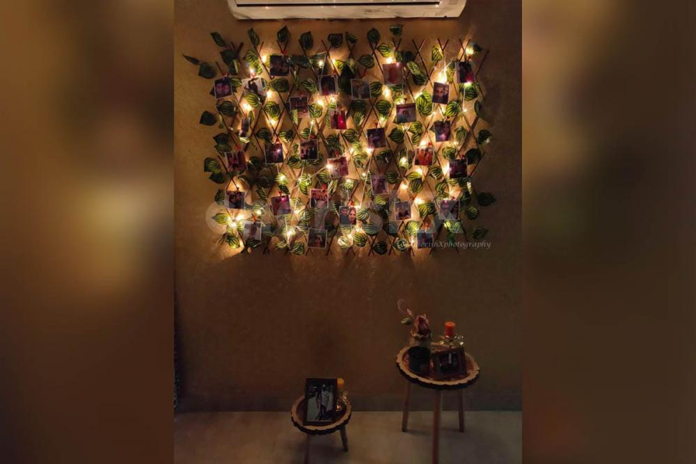 Add fairy lights to add more beauty to the product