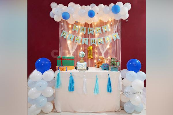 Adorable Pastel First Birthday Decoration