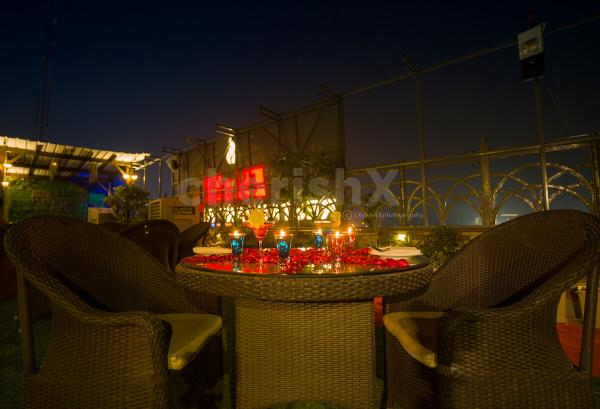 Romantic Rooftop Dining in Dwarka