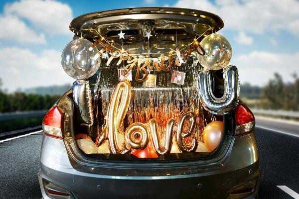 Rosegold Car Boot Surprise