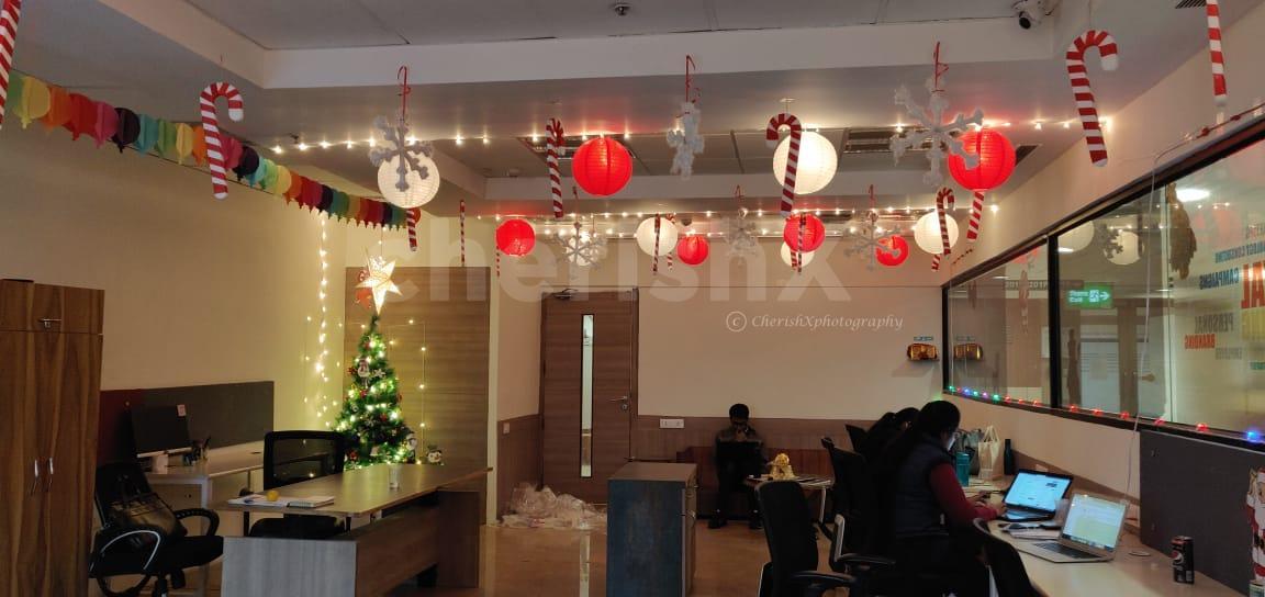 Christmas Tree And Decoration Office Setup In Delhi Gurgaon Noida Ncr