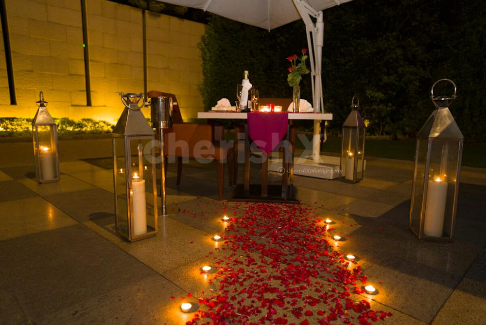 Open air canopy private dining at taj city centre by Cherishx