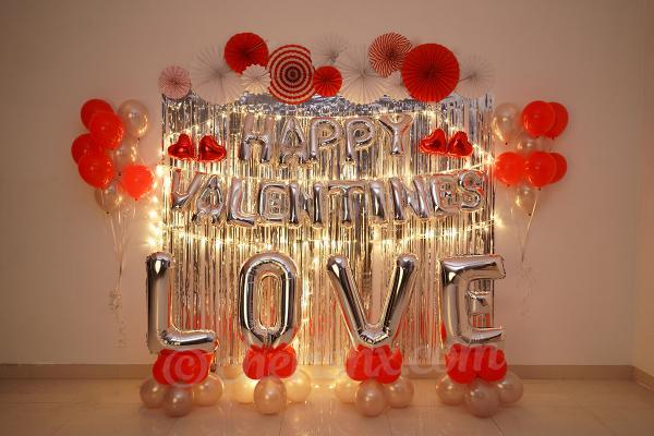 Make your Valentine's Date Unforgettable with CherishX's Happy Valentine's Love Decor!