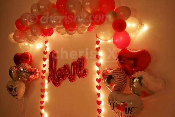 Give a breathtaking surprise with Valentine's Love Wall Decor offered by CherishX!
