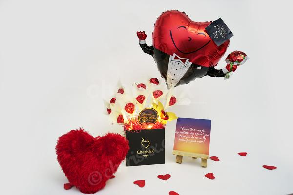 Make your proposal impressive with CherishX's Propose Day Bucket!