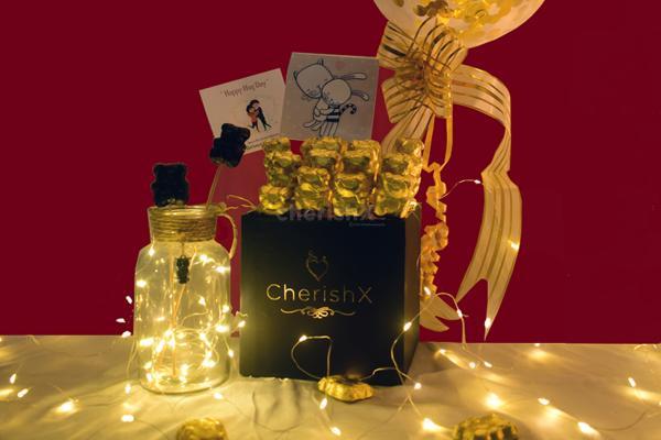 Shower love on your valentine through CherishX's Hug Day Bucket !