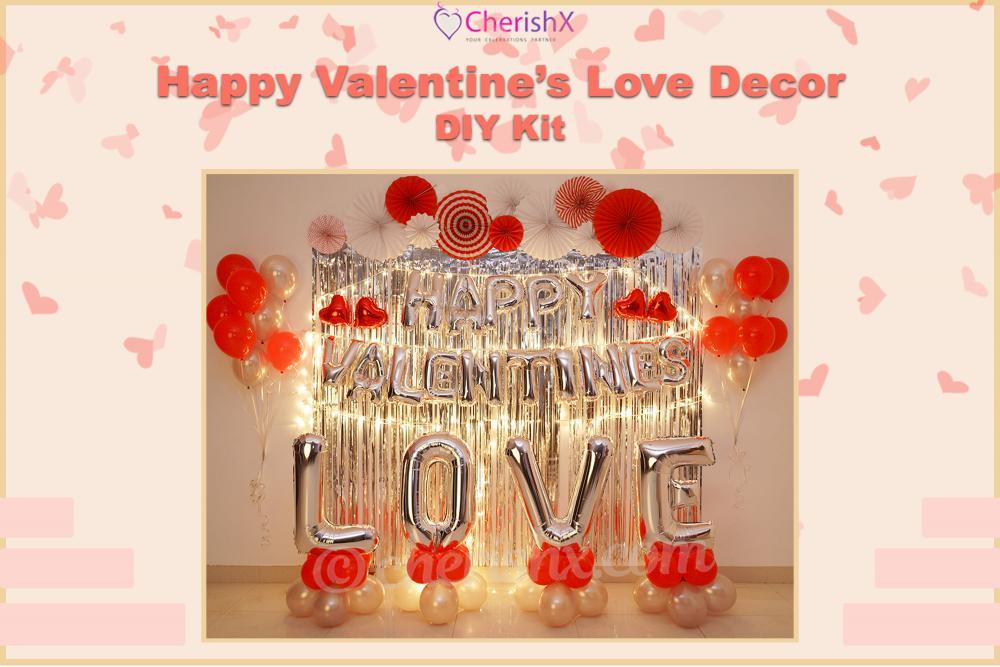 DIY Happy Valentine's Love Decoration Kit