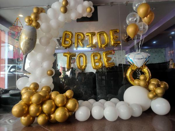 Elegant Bride To Be Decor