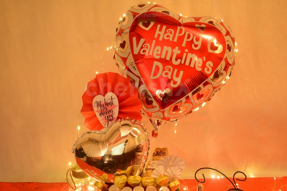 .Surprise your partner with this delightful and cute Valentine's Day Bucket offered by CherishX!