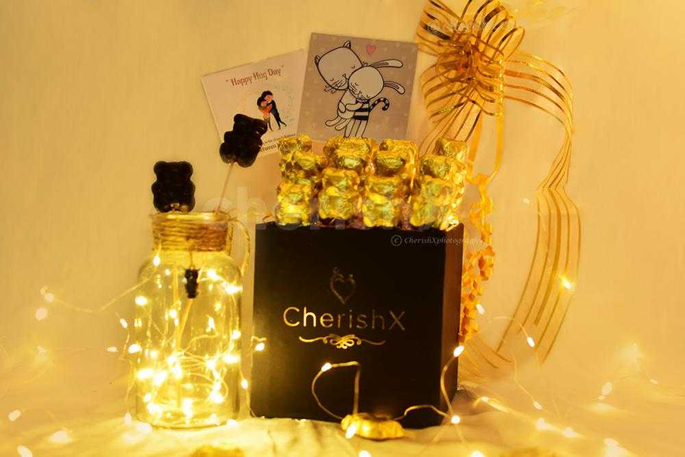 Celebrate Hug Day with a wondrous Hug Day Bucket curated by CherishX!!