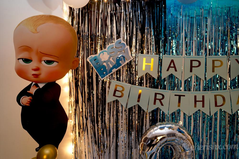 Is it a time for a birthday party? Then book this exciting CherishX's Boss Baby Theme Decor!