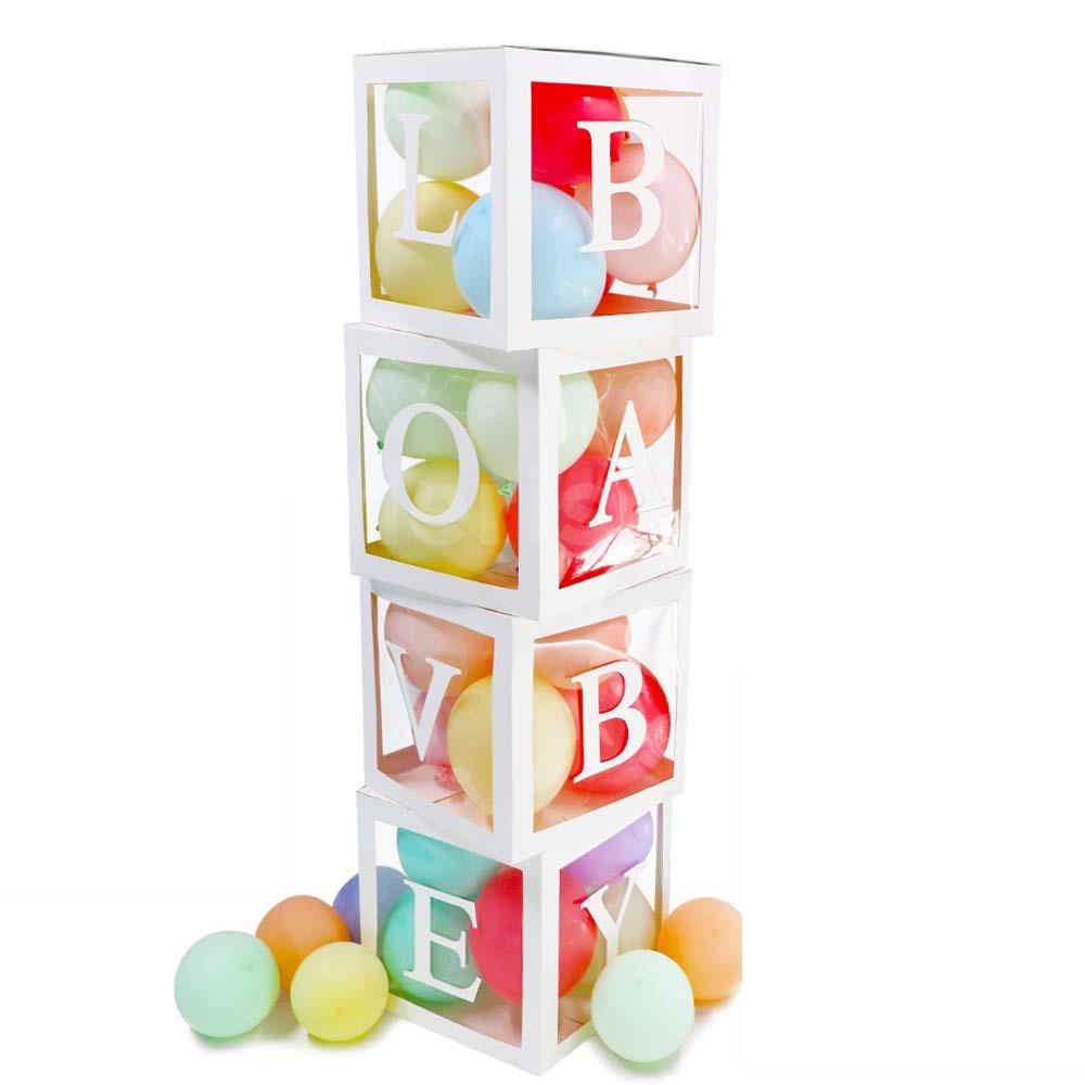Add 1 Custom letter balloon box.