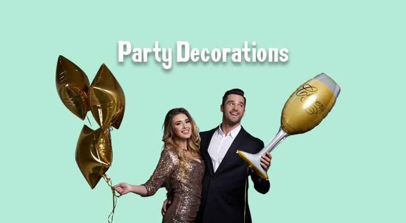 Balloon & Room Decorations
