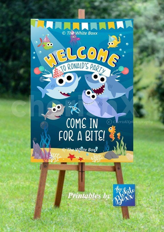 Personalized Welcome Board