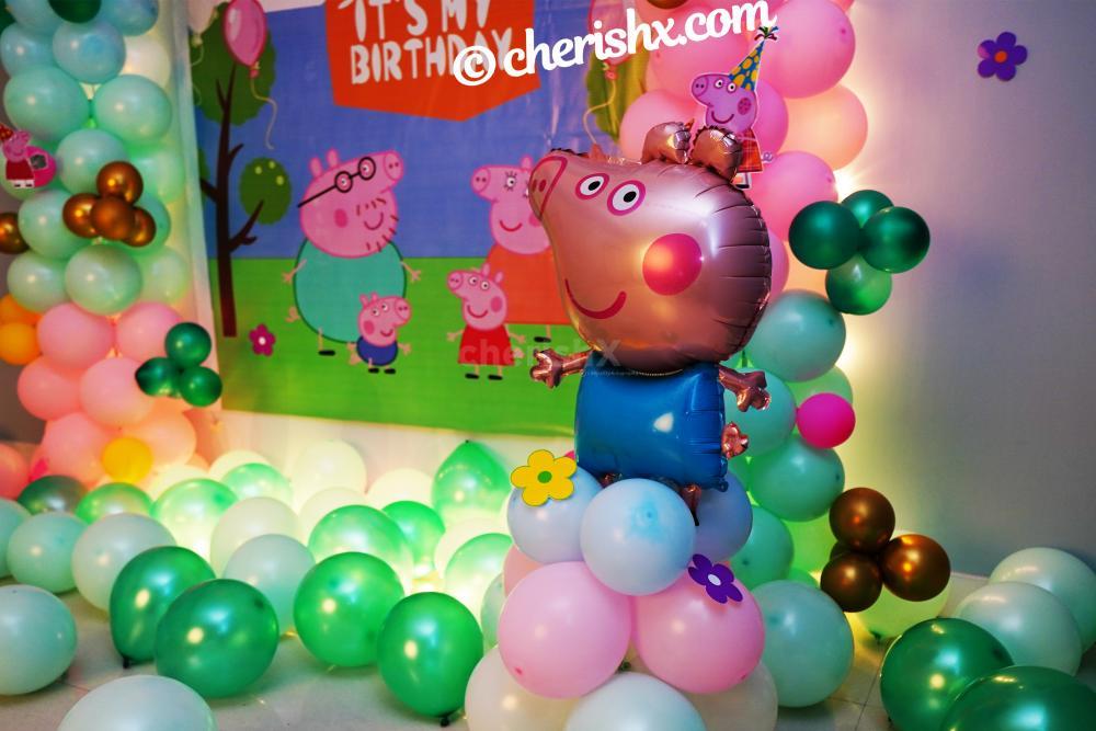 Peppa Pig Birthday Theme Decor